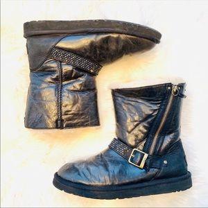 UGG Australia Black Blaise Boots size 10